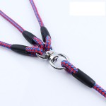 3 in 1 Adjustable Detachable Nylon Dog Leash Handle for Multiple Dogs