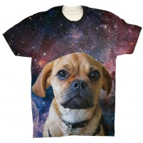 Galaxy Background Mens T Shirt