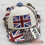 Pets Dogs Cats Hip Hop Jack Union UK Flag Baseball Cap Hat