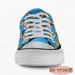 Customized Dog Cat Pet Personalized Portrait Pattern Low Top Sneakers Shoes for Mens